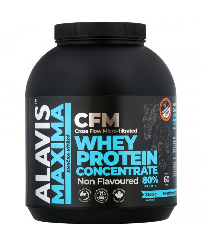ALAVIS  MAXIMA CFM Whey Protein Concentrate 80% 2200g