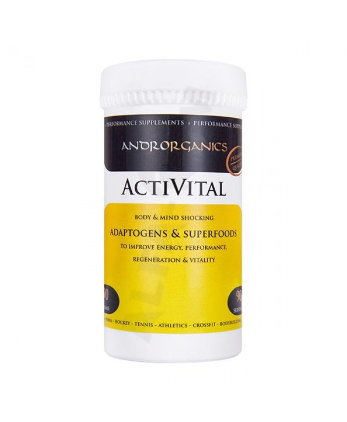 ANDRORGANICS ACTIVITAL 90 g