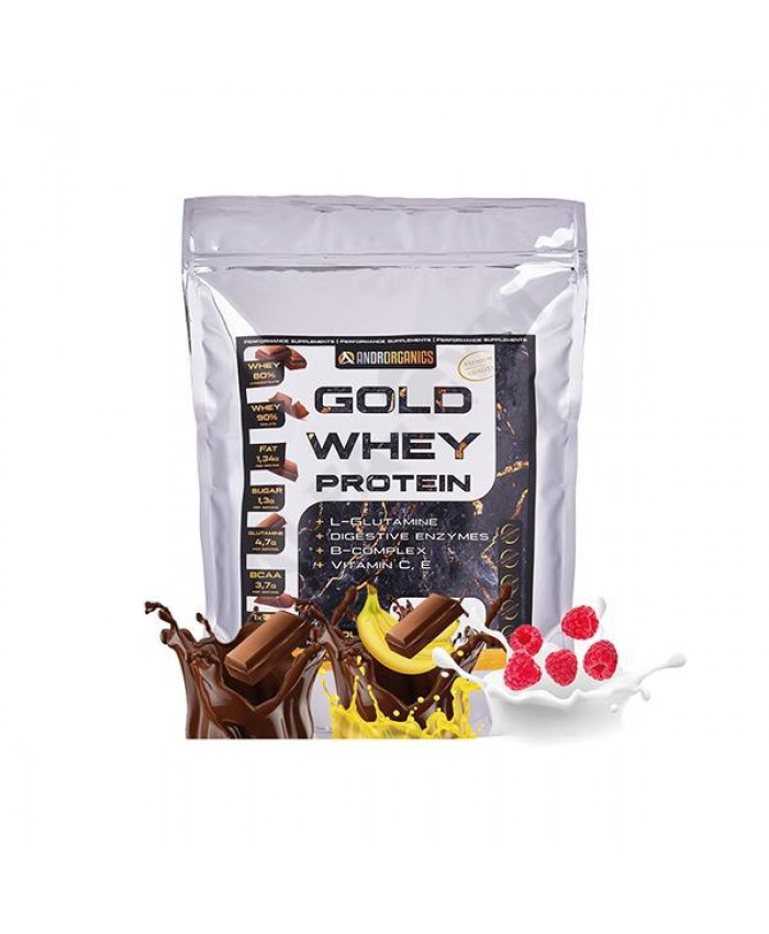 ANDRORGANICS GOLD WHEY PROTEIN 1000 g