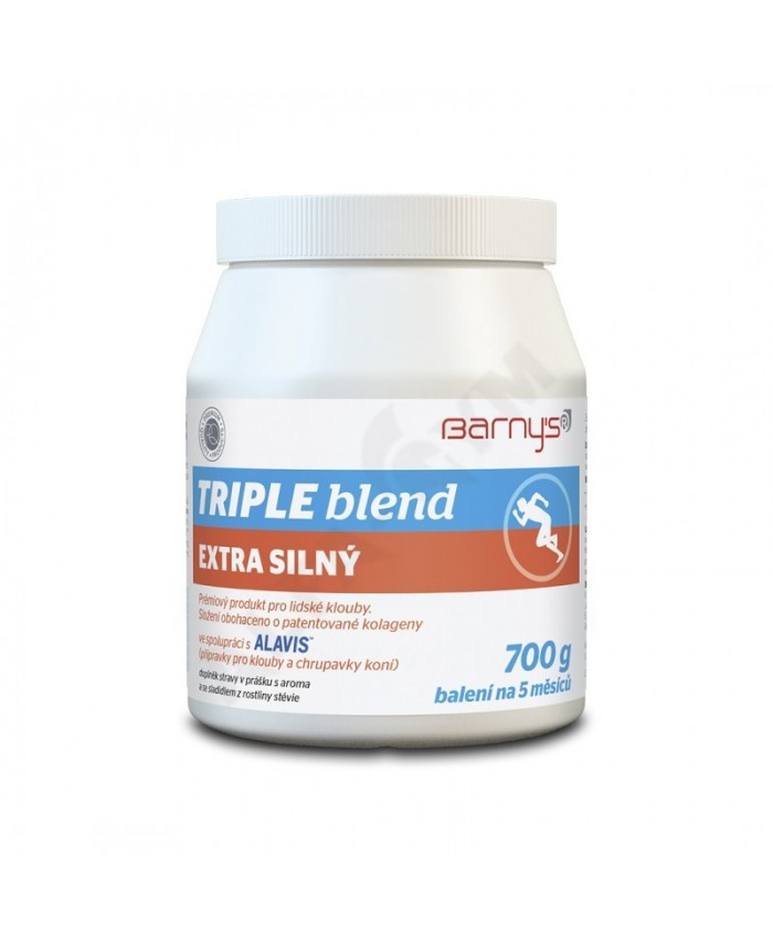 BARNY´S® TRIPLE BLEND extra silný 700g