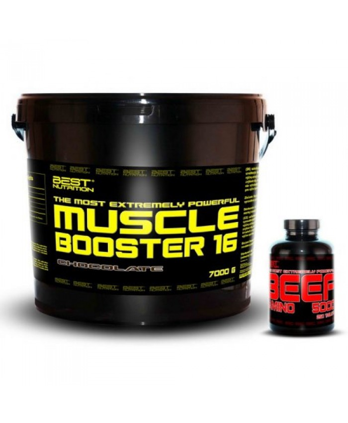 BEST NUTRITION Muscle Booster 7 kg  + BEEF Amino Zadarmo
