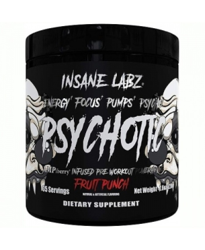INSANE LABZ PSYCHOTIC BLACK 220 g