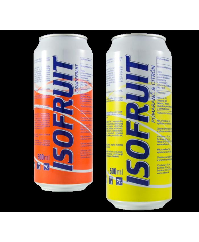 Nápoj Izotonický ISO FRUIT 0,5 L plechovka