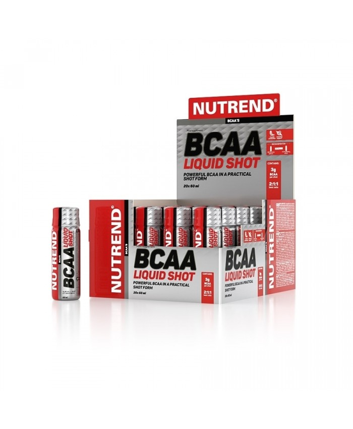 NUTREND BCAA LIQUID SHOT 20x16ml
