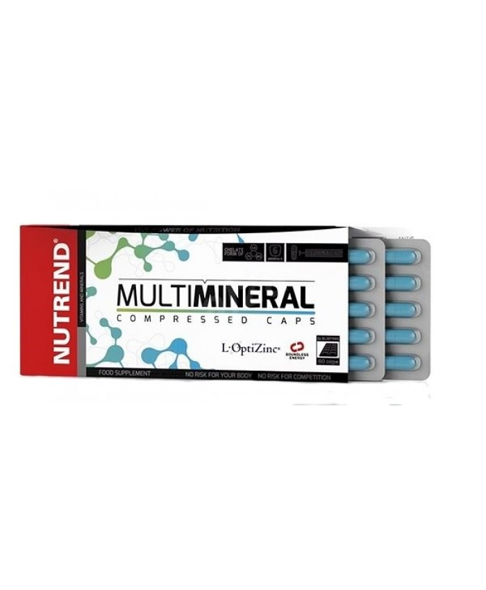 NUTREND MULTIMINERAL COMPRESSED CAPS 60CAPS