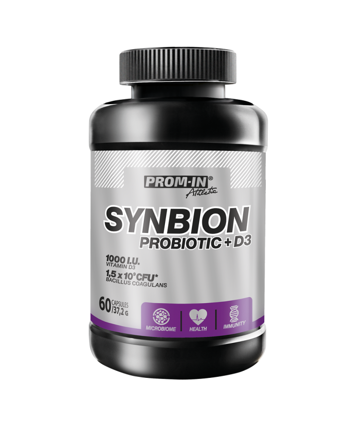PROM-IN SYNBION PROBIOTICS + D3 60 kapsúl