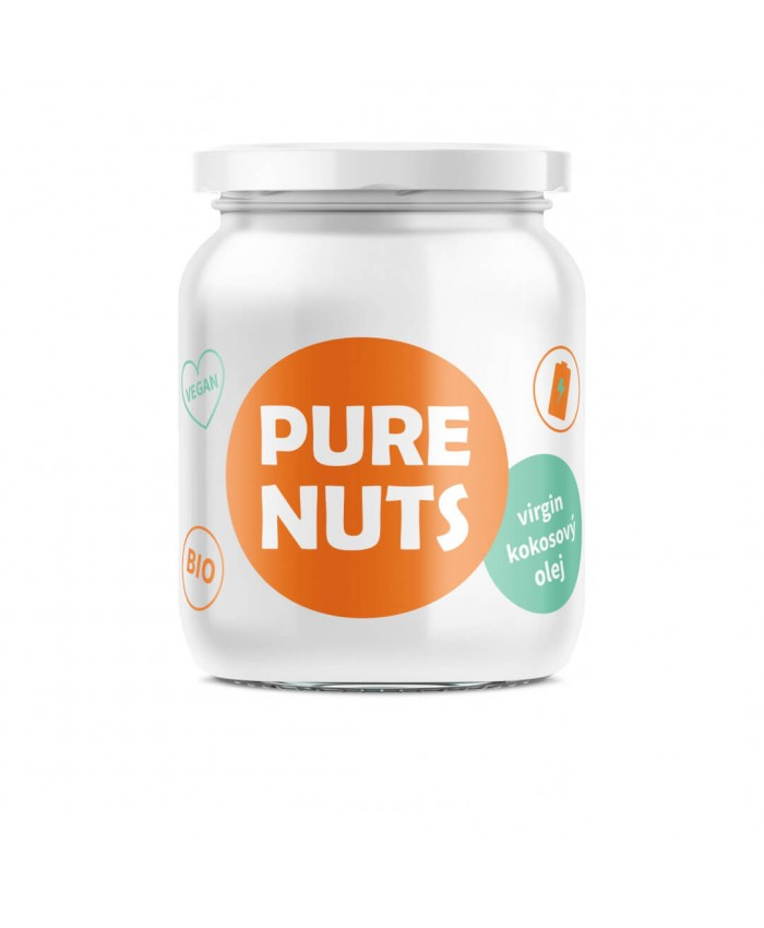 PURE NUTS Virgin kokosový olej BIO 500 ml